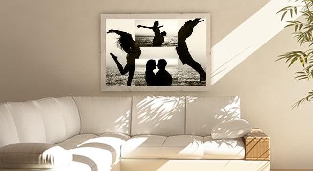 En flot collage til stuen